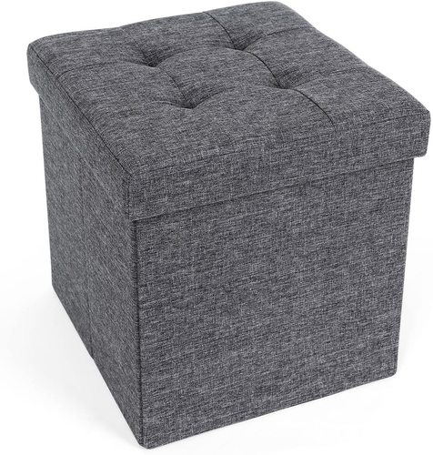 Folding pouffe with a container LSF27Z