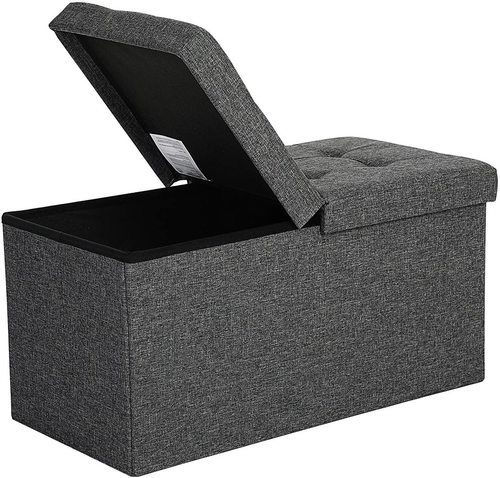Folding pouffe with storage LSF46GYZ
