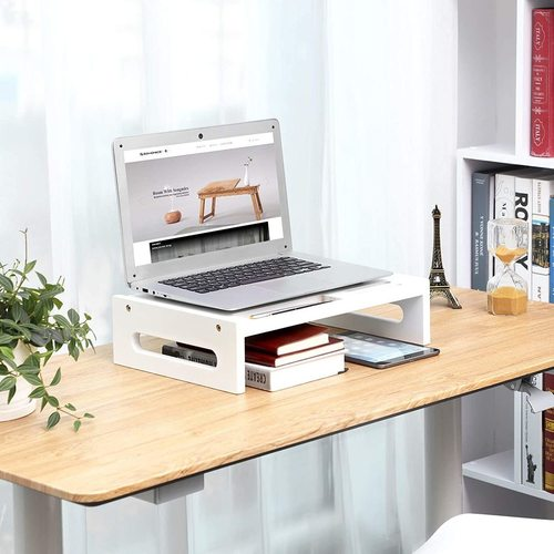 LLD211WT monitor stand