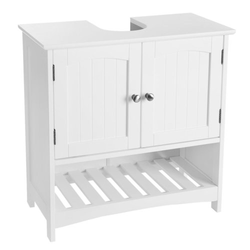 White Bathroom Sink Cabinet BBC03WT