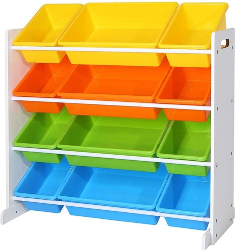 Childrens bookcase for toys TOY GKR04W