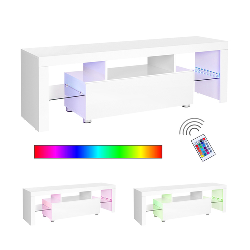 Illuminated TV cabinet RGB LTV14WT