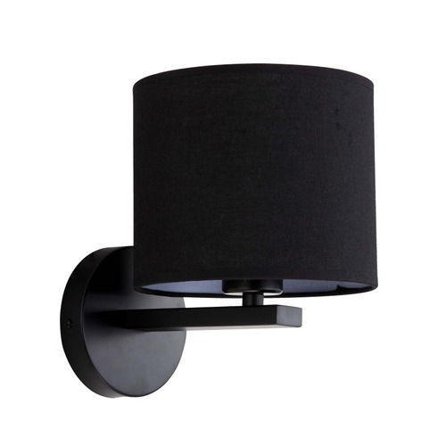 Cecina black wall lamp