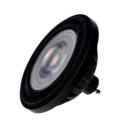 Bulb Ar111 6 W Gu10 3000 K / Black