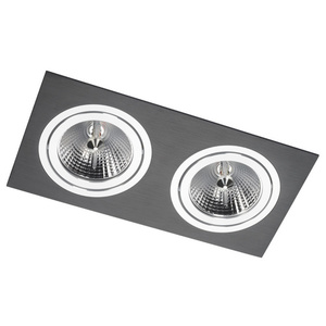 Dual Alcazar Black Downlight with Chrome 142.BC small 0