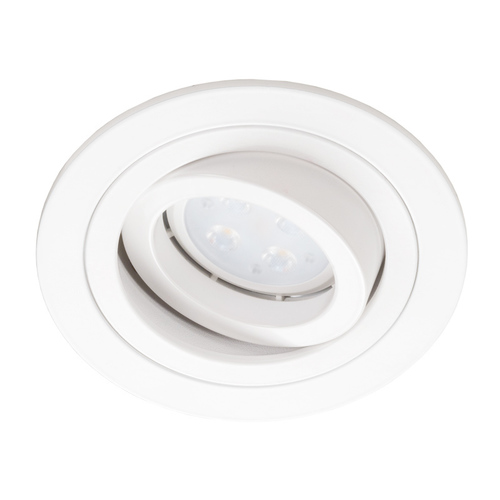 White Alcazar 540.WW Round Downlight
