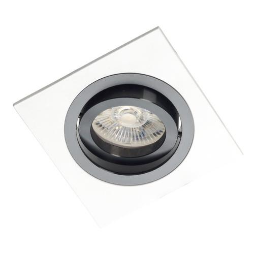 White Square Alcazar with Black Ring 541.WB
