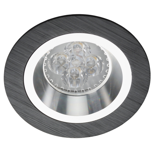 Black Downlight Recessed Chrome Bosque 540.BC