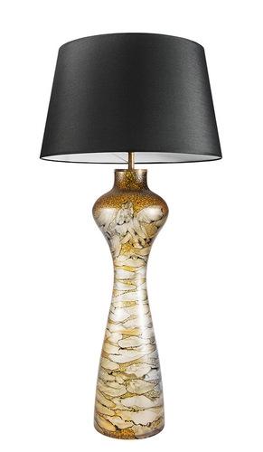 Interesting table lamp Havana L Sahara Famlight E27 60W graphite / white