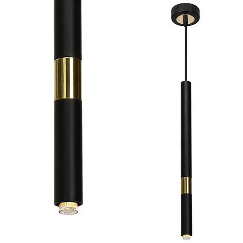 Hanging lamp Monza Black / Gold 1x G9 8 W