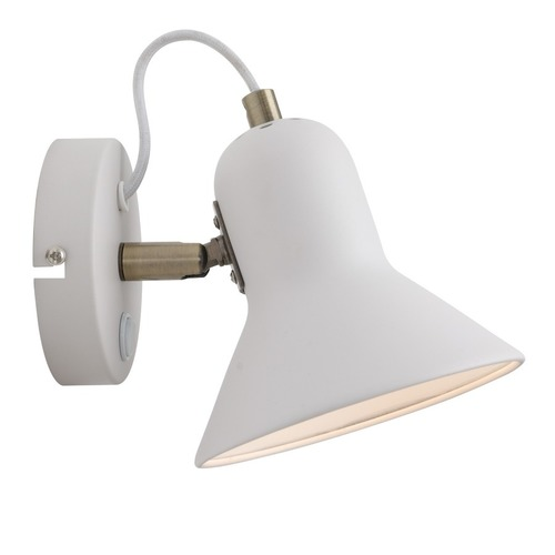 Astama white wall lamp
