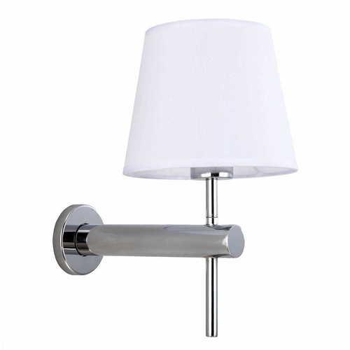 Tivoli chrome wall lamp