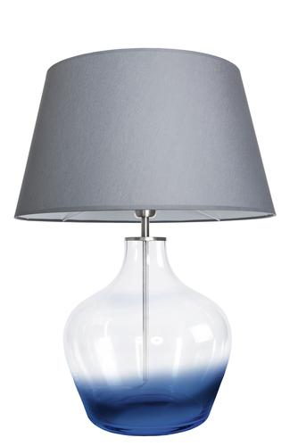 Stylish table lamp Famlight Madeira Blur gray / white E27 60W
