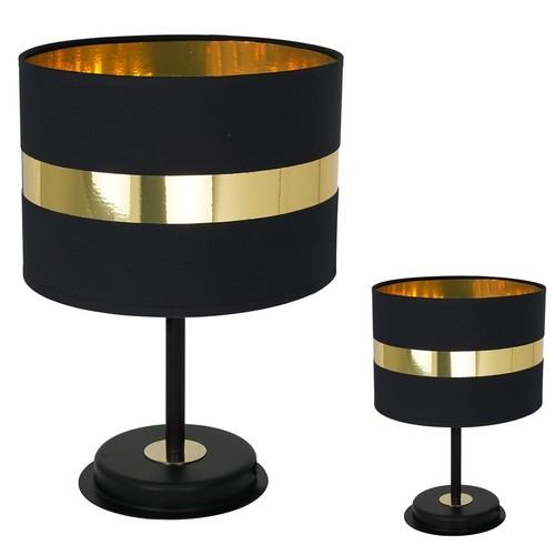 Table lamp Palmira Black / Gold 1x E27 60 W