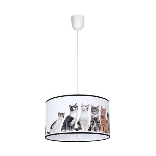Hanging Lamp Cats 1x E27