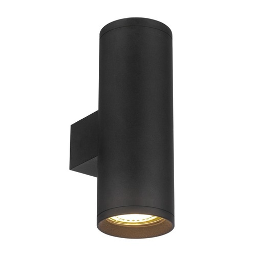 Torre black wall lamp