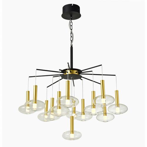 Black Hasselt LED Pendant Lamp