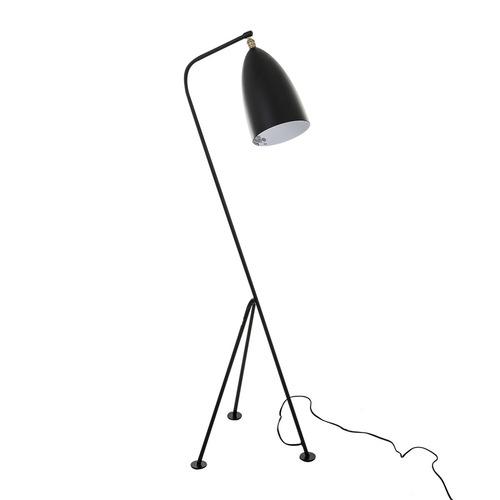 Black Levigne E27 Floor Lamp