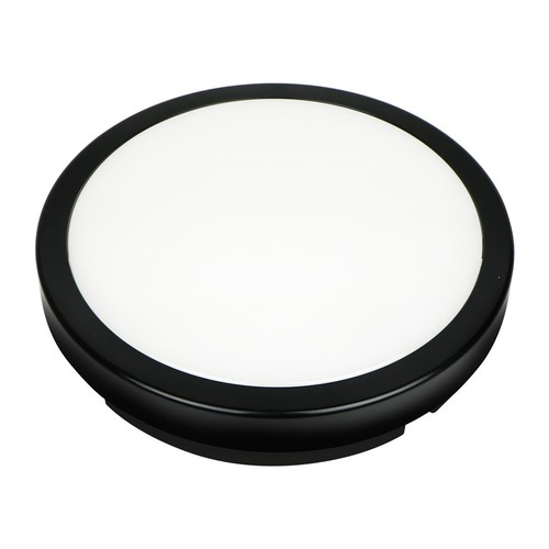 24W 3000K Black Ip65 LED Ceiling Lamp