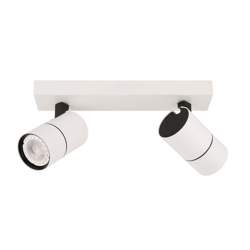 Modern Laconi GU10 White Reflector 2-point