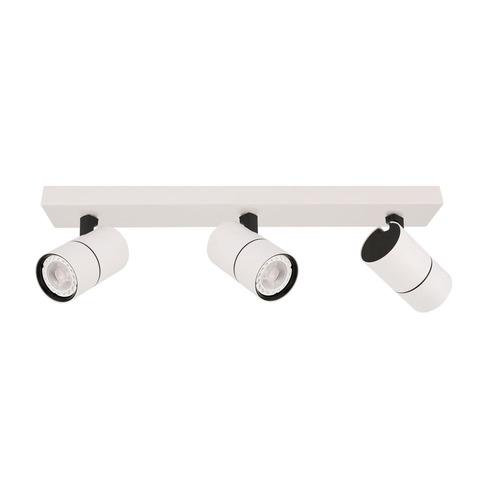 Modern Laconi GU10 White Reflector 3-point