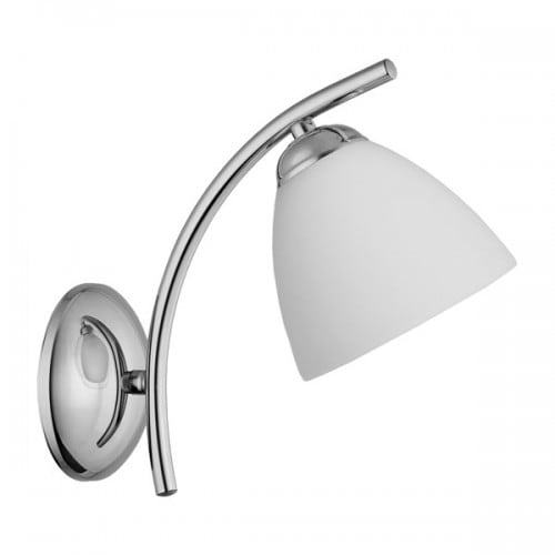 Wall lamp 1-pł. SILVER SIMPLICITE Chrome