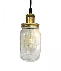 Pendant Lamp Jar Loft Jar Large E27 small 1