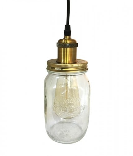 Pendant Lamp Jar Loft Jar Large E27