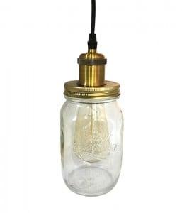 Pendant Lamp Jar Loft Jar Large E27 small 0