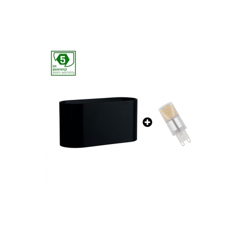 5-Year Warranty Package: Squalla G9 Black + Led G9 4w Cw (Slip006010 + Woj + 14435)