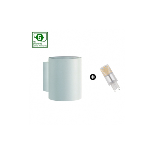 5 Years Warranty Package: Squalla G9 Tube White + Led G9 4w Cw (Slip006011 + Woj + 14435)