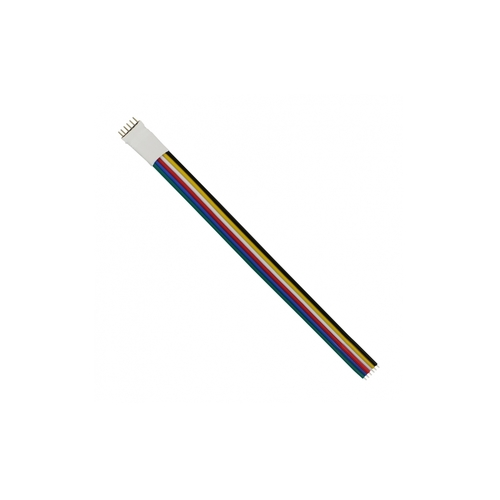 Connector Led Strip PZ Cable 6 Pin 12mm / PZ Cable 6 Pin Led Strip Connector 12mm