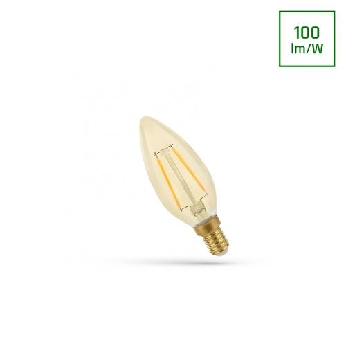 Led Candle E-14 230v 5w Cog Ww Retroshine Spectrum