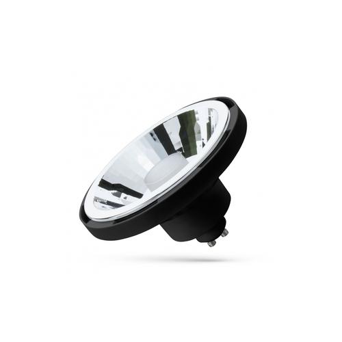 Led Ar111 10w Gu10 Smd 230v Black 30st Cct + Dimm Wi-Fi / Bt Spectrum Smart