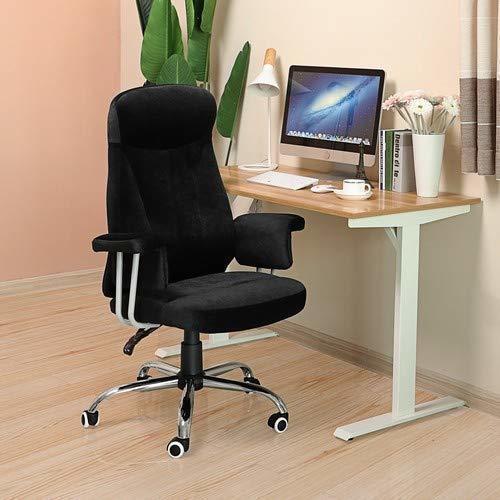 Elegant Office Chair OBG41B Velvet Fabric