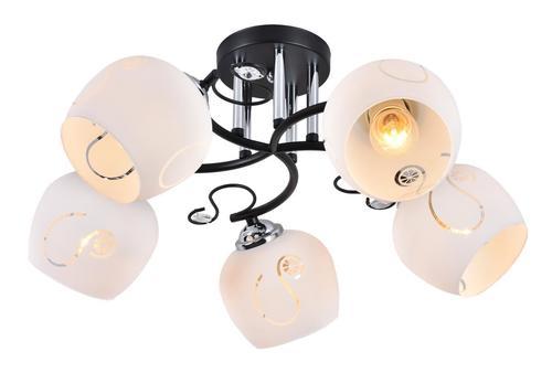 Glamor chandelier Nursja 5