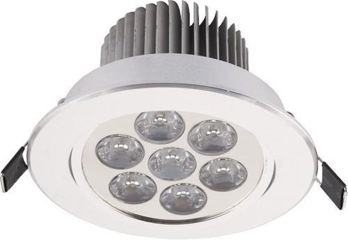 Luminaire. DOWNLIGHT LED VII SILVER