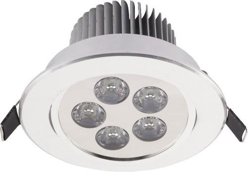 Lighting fixture: DOWNLIGHT LED V SILVER