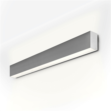 PLANLICHT Pure 2 double-wall sconce 2x 28W 120cm