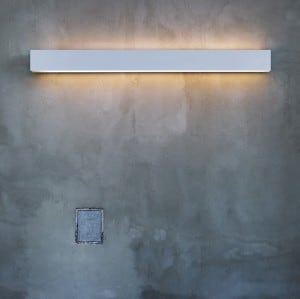 PLANLICHT Pure 2 double-wall sconce 1x2x14 / 24W 60cm small 1