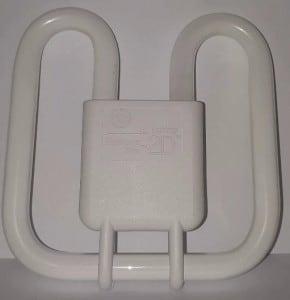 GE Biax 2D Integral 18W / 830 GRZ10d warm white small 1