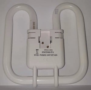 GE Biax 2D Integral 18W / 830 GRZ10d warm white small 2
