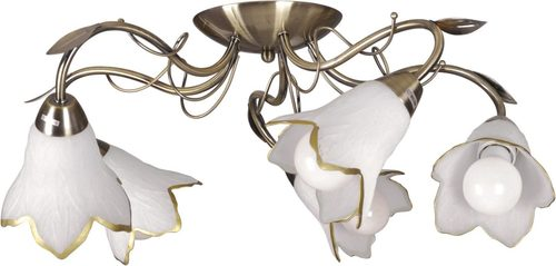 K-JSL-6066/5 AB ceiling lamp from the SEMI series
