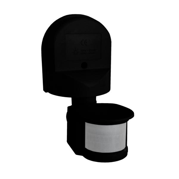 Motion sensor 1300W 180 ° ES34Z black