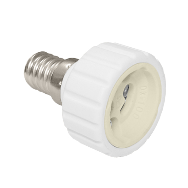 Adapter socket E14> GU10