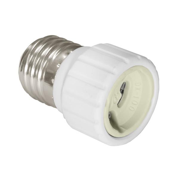 Adapter socket E27> GU10