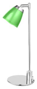 Lampa biurkowa Kate 5W LED zielony/chrom