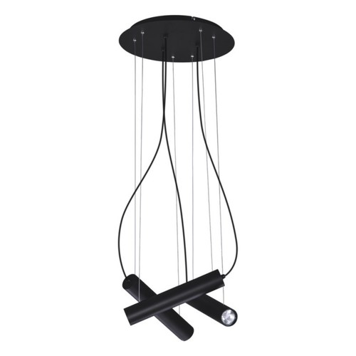 Hanging lamp K-4401 from the MILE BLACK series