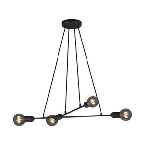 Hanging lamp K-4380 from the SITYA BLACK series small 0