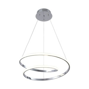 Hanging lamp K-8047 from the ILUSION CHROM series small 0